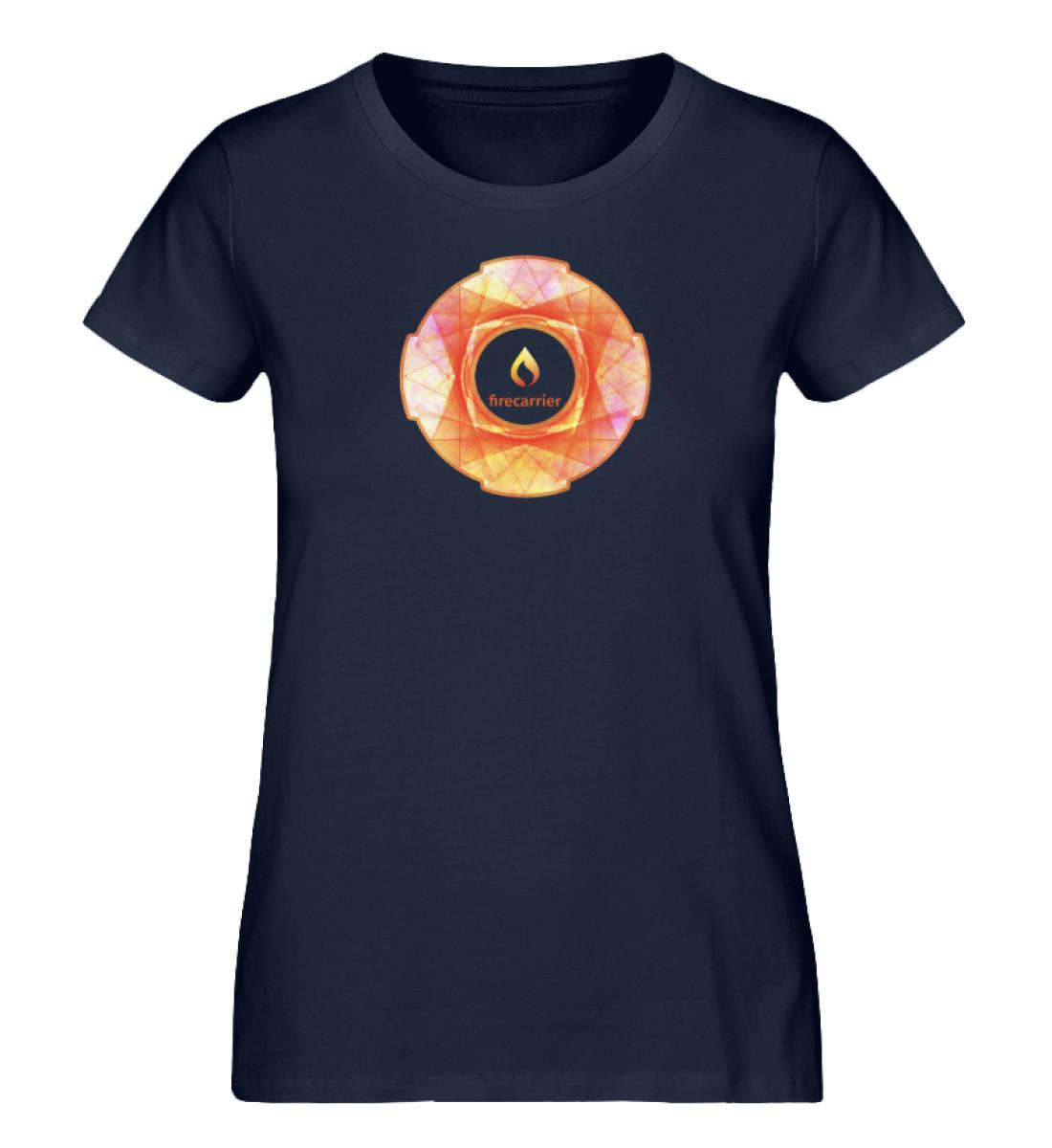 fire inside - Damen Premium Organic Shirt-6959