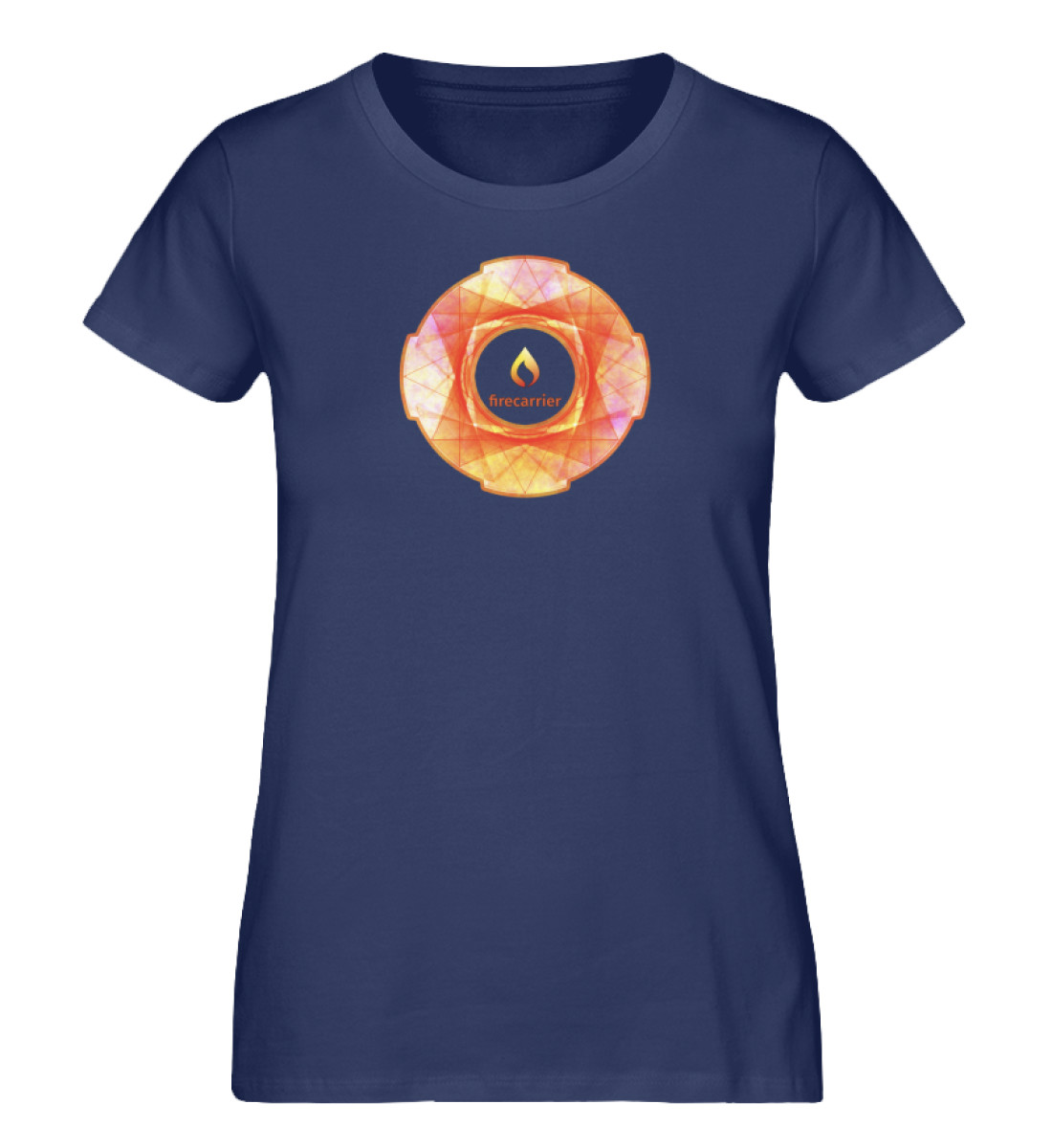 fire inside - Damen Premium Organic Shirt-6057