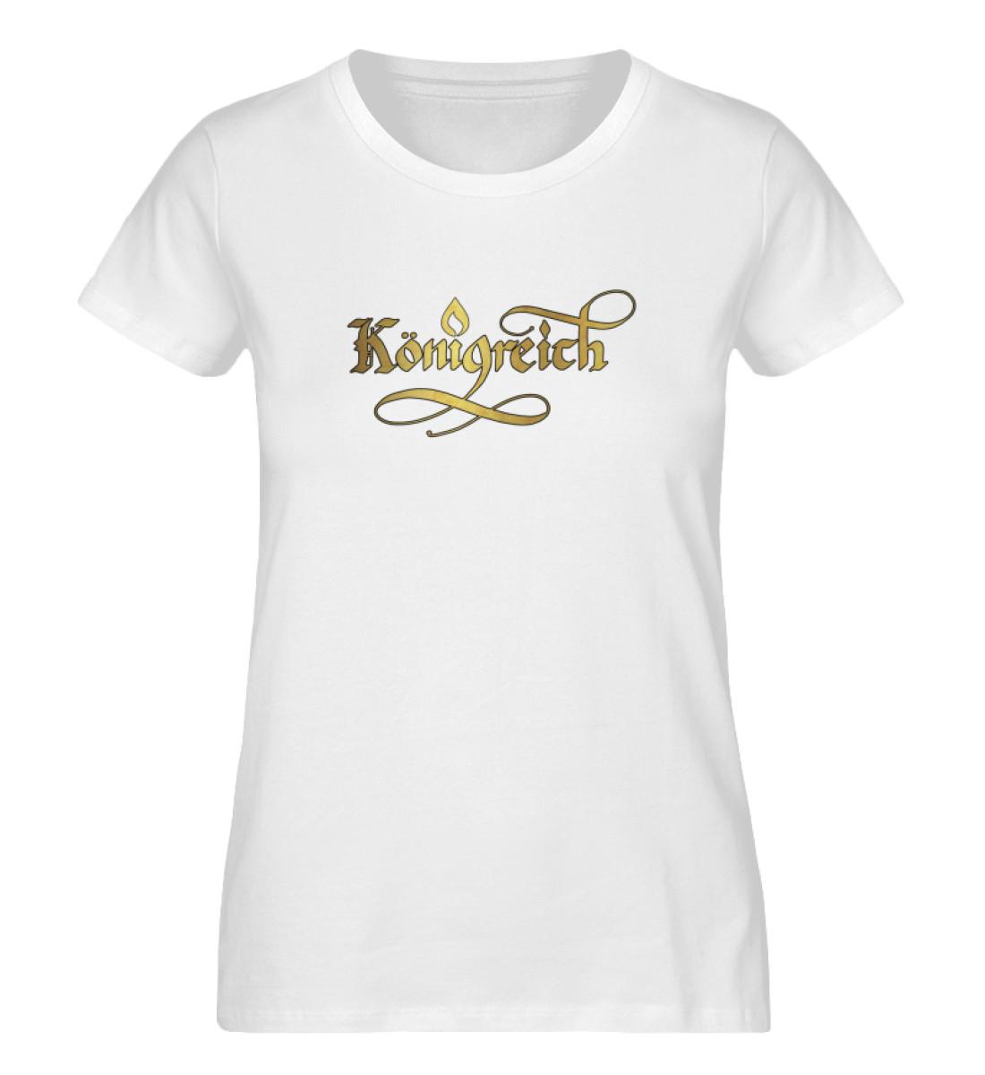 königreich - Ladies Premium Organic Shirt-3