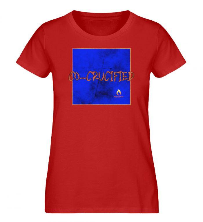 cocrucified - Ladies Premium Organic Shirt-4