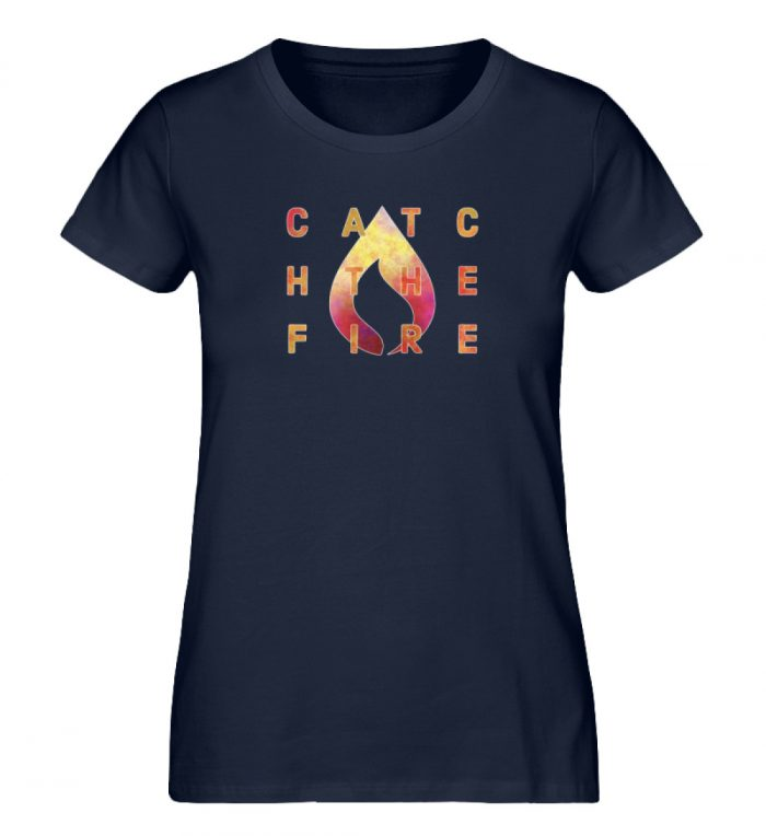 catch the fire - Damen Premium Organic Shirt-6959