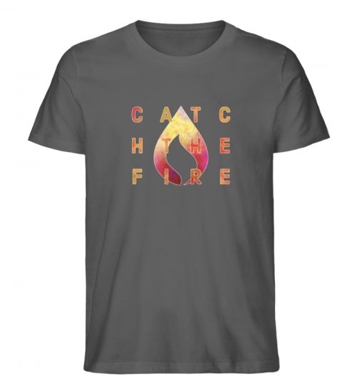 catch the fire - Herren Premium Organic Shirt-6903