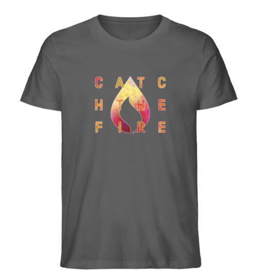 catch the fire - Herren Premium Organic Shirt-6903
