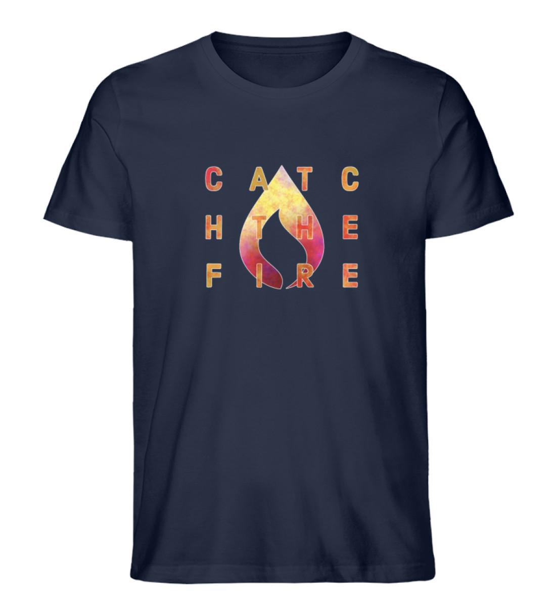 catch the fire - Herren Premium Organic Shirt-6959