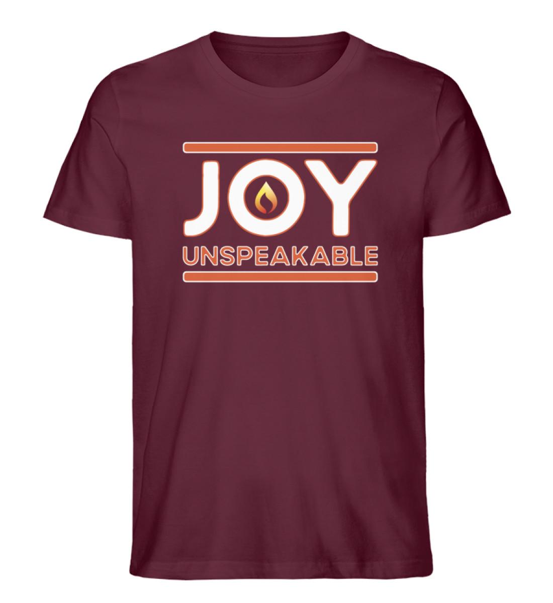 joy! - Men Premium Organic Shirt-839