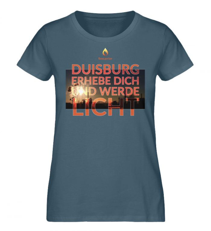 duisburg - Damen Premium Organic Shirt-6880