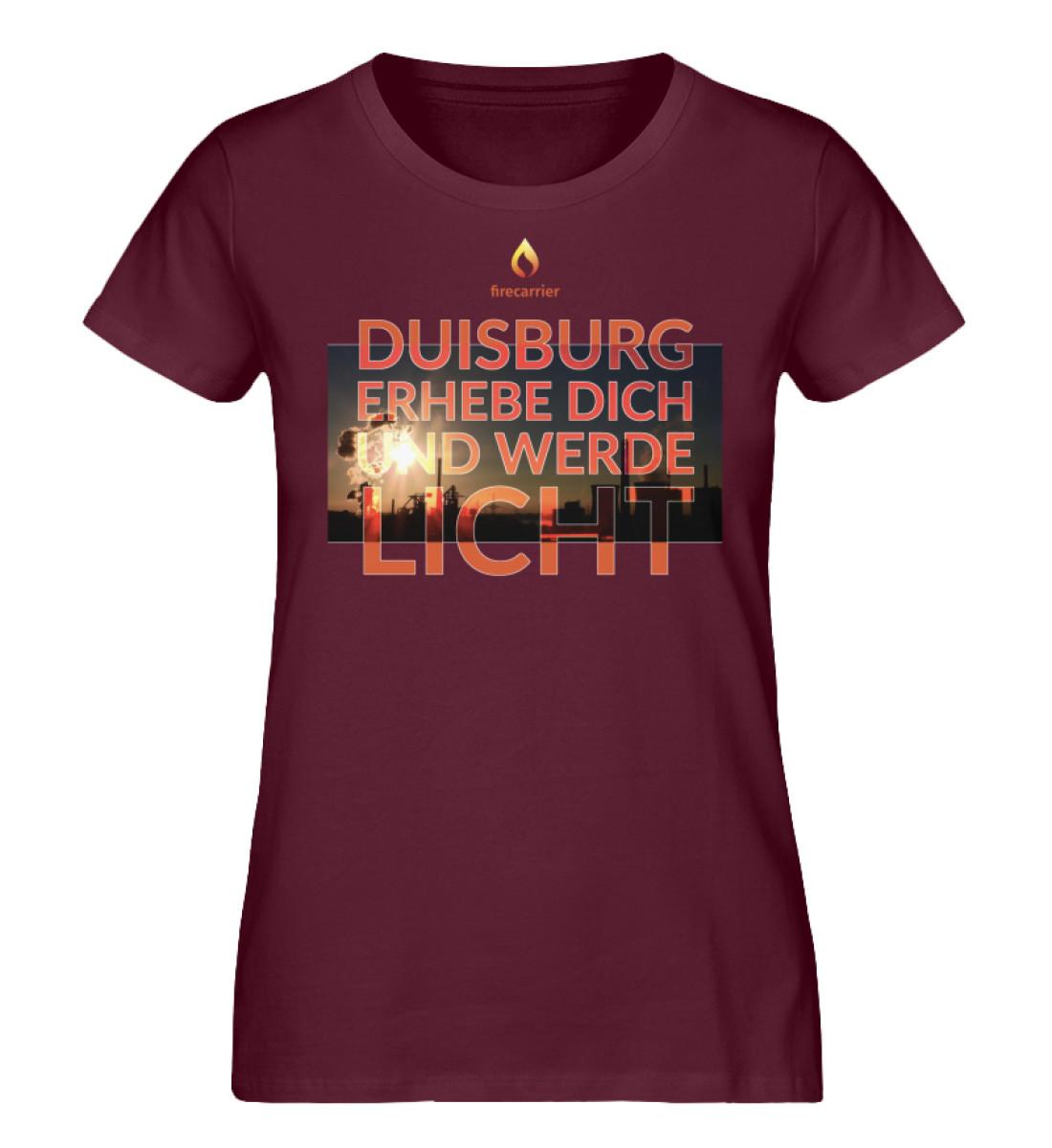 duisburg - Damen Premium Organic Shirt-839