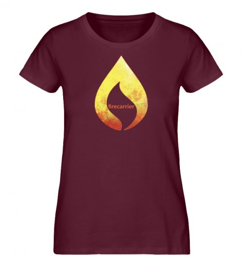 hot fire - Damen Premium Organic Shirt-839