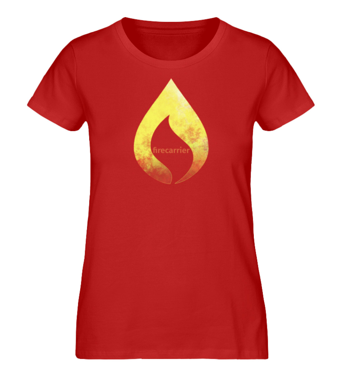 hot fire - Damen Premium Organic Shirt-4