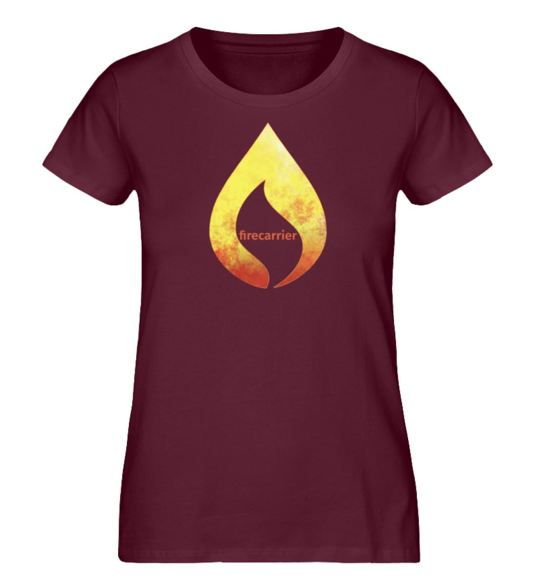 hot fire - Damen Premium Organic Shirt-839